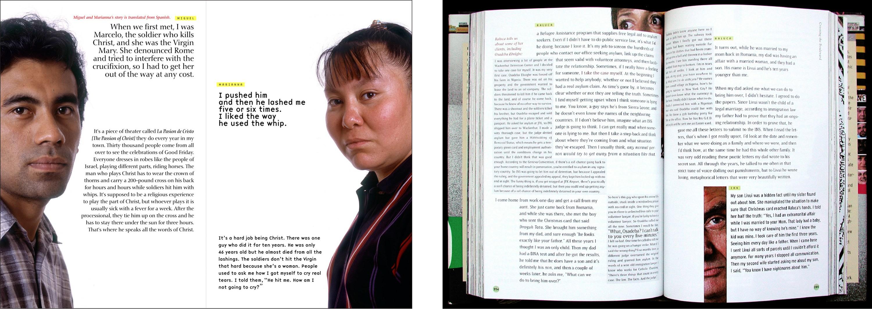 crossing the blvd, book & audio CD, 2003 - Warren Lehrer