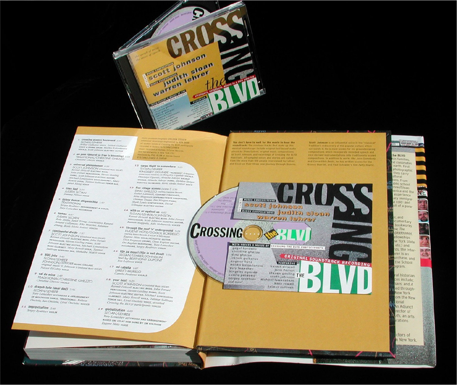 Crossing The Blvd Book Audio Cd 2003 Warren Lehrer